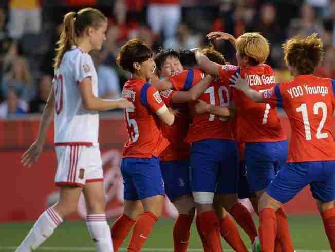 España Korea del Sur