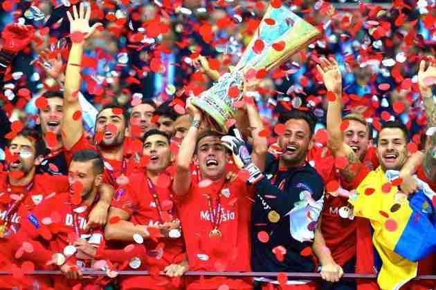 Sevilla celebra Europa League