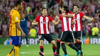 athletic bilbao celebrando gol