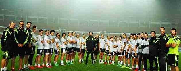 Jorge Vilda y la selección femenina