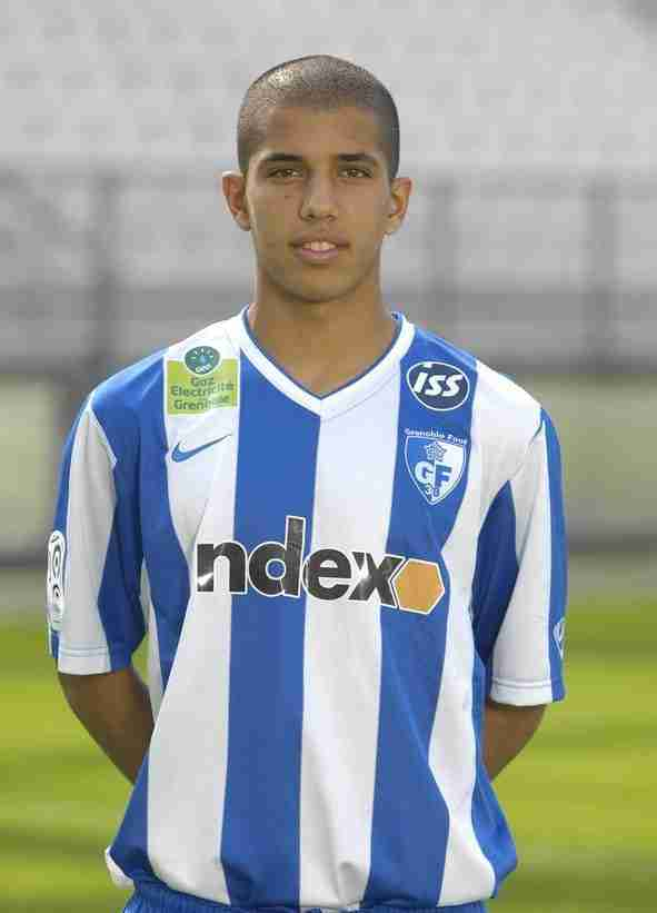 Feghouli camiseta Grenoble