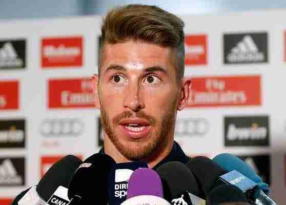 Sergio Ramos atiende a los medios