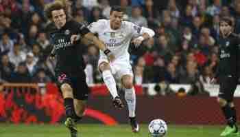 David Luiz y Cristiano
