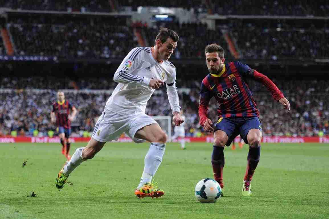 Gareth Bale Jordi Alba clásico