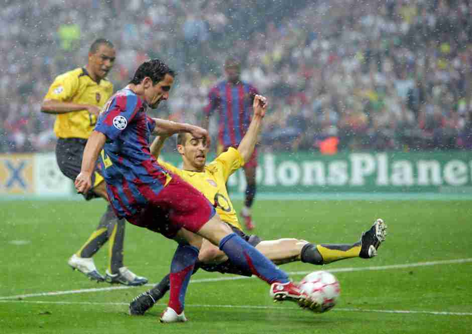 Belleti gol Arsenal Barcelona