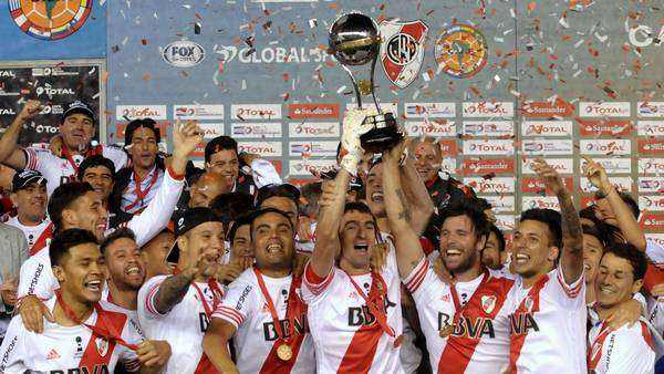 River Plate celebra Copa Libertadores