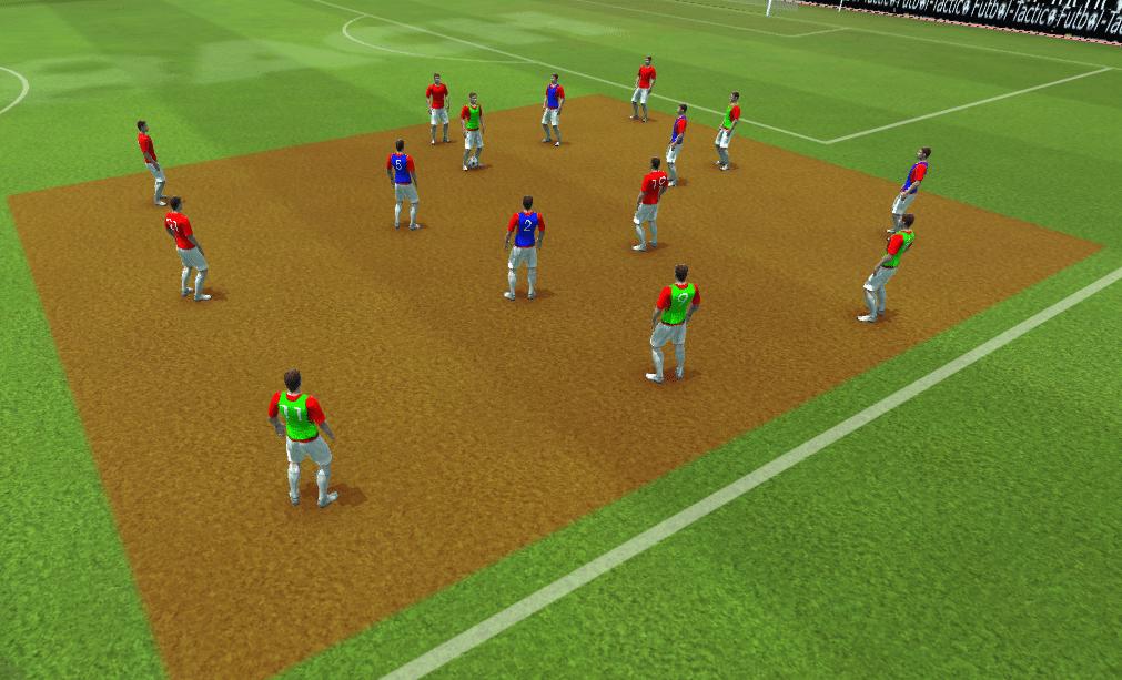 ejercicios táctica entrenadores fútbol