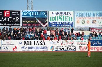 Aficionados murcianistas desplazados a Villanueva de la Serena