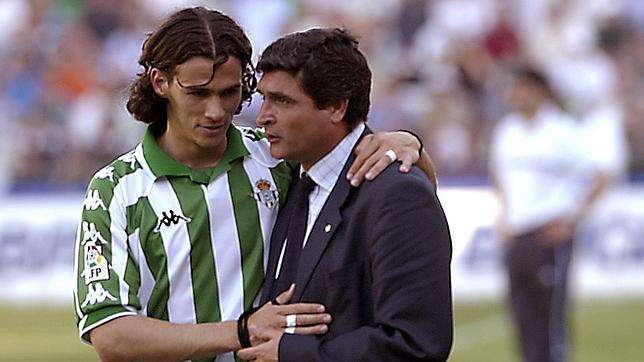 Juande Ramos y Capi Betis