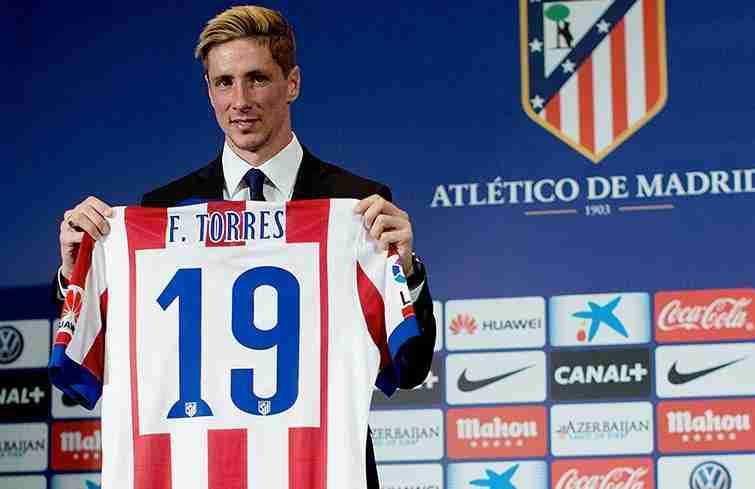 Fernando Torres presentación enero de 2015
