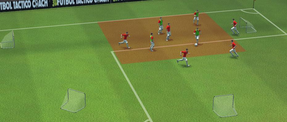 Ejercicios de táctica fútbol