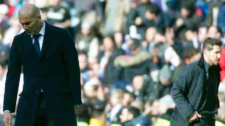Zidane y Simeone