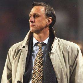 Johan Cruyff entrenador Barcelona