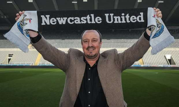 Benítez presentación Newcastle