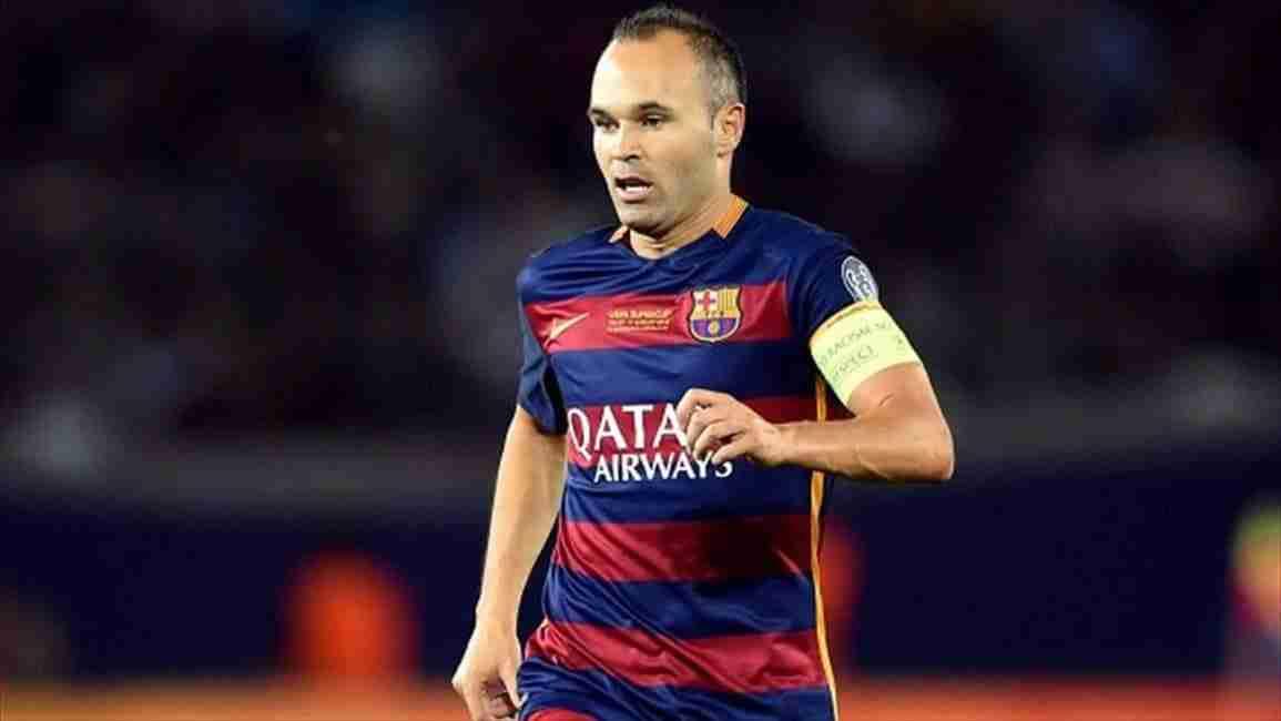 Andrés Iniesta capitán del Barcelona