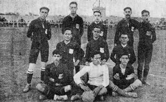 Alfonso XIII, el equipo original del Mallorca.