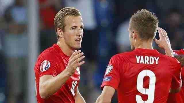 Vardy y Kane Inglaterra