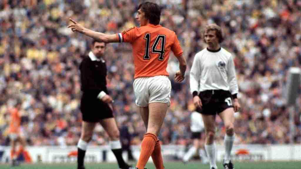 Johan Cruyff Holanda Alemania