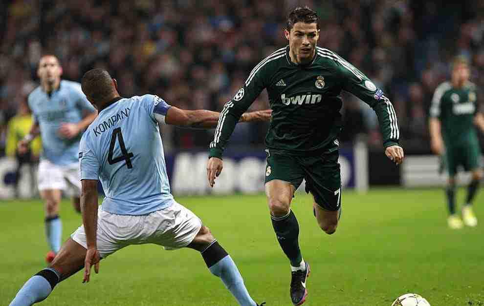 Cristiano Ronaldo se va de Kompany