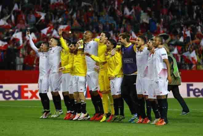 Sevilla celebra pase final Copa del Rey