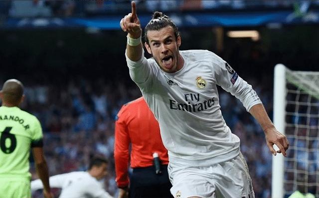 Gareth Bale celebra gol