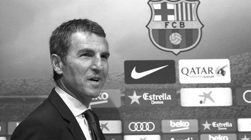 Robert Fernández director deportivo del FC Barcelona