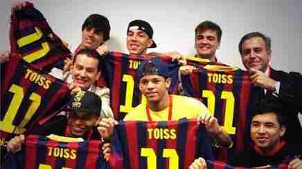 Neymar y los toiss