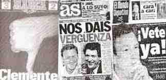 La prensa fue muy dura con el polémico Javier Clemente