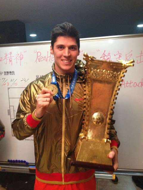 Rafa Jordá tuvo éxito en su paso por China