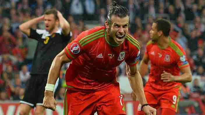 Gareth Bale Gales Bélgica