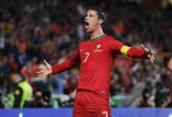Cristiano Ronaldo celebrando gol Portugal