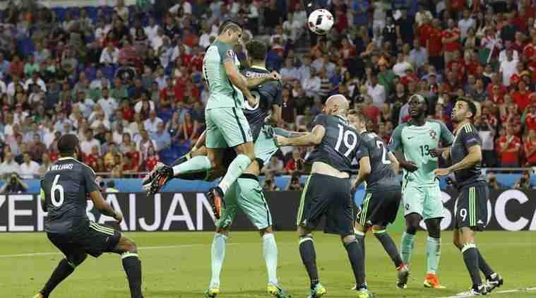 Cristiano Ronaldo gol semifinal ante Gales