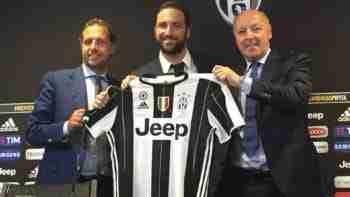 Presentación Higuaín Juventus