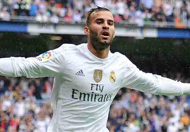 Jesé Rodríguez celebrando gol con el Real Madrid