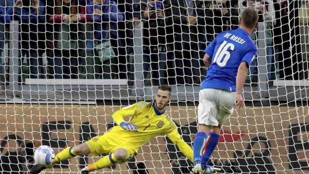 De Rossi penalti españa
