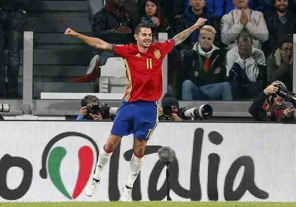Vitolo gol Italia
