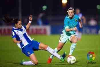 Bárbara, protagonista con su gran gol (La Liga)