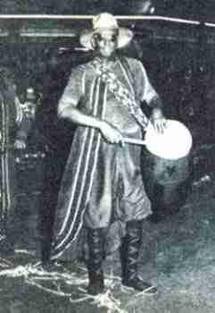 José Leandro Andrade tambor