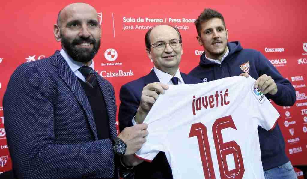 Presentación Jovetic Sevilla