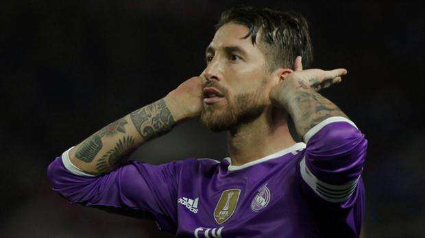 Sergio Ramos gesto