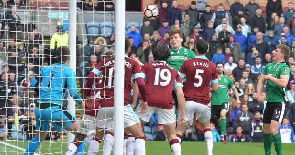 Gol Raggett Lincoln City Burnley