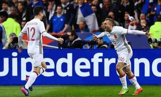 Deulofeu gol Francia