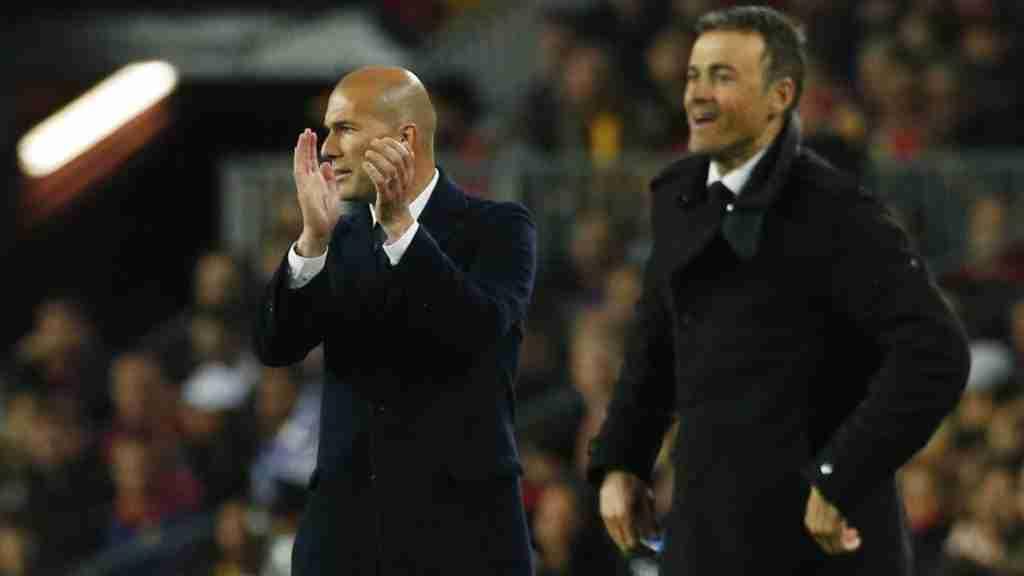 Zidane y Luis Enrique
