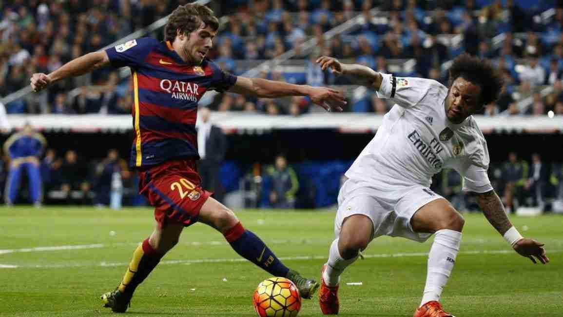 Sergi Roberto vs Marcelo