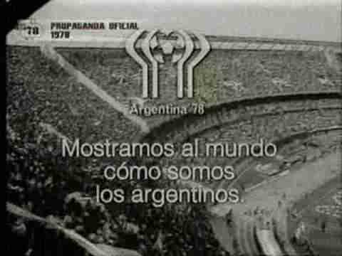"""La propaganda oficial Mundial de la """"República"""" Argentina 1978"""