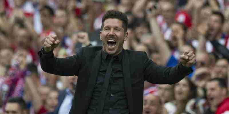 DIego Pablo Simeone celebra gol