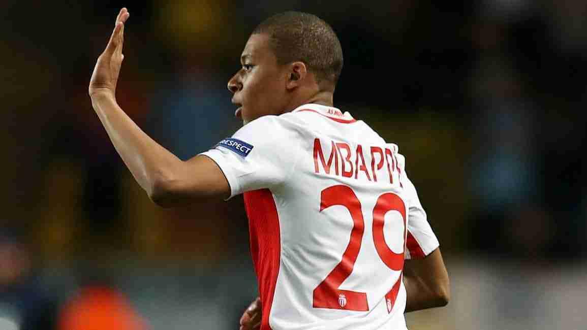 Mbappé Mónaco