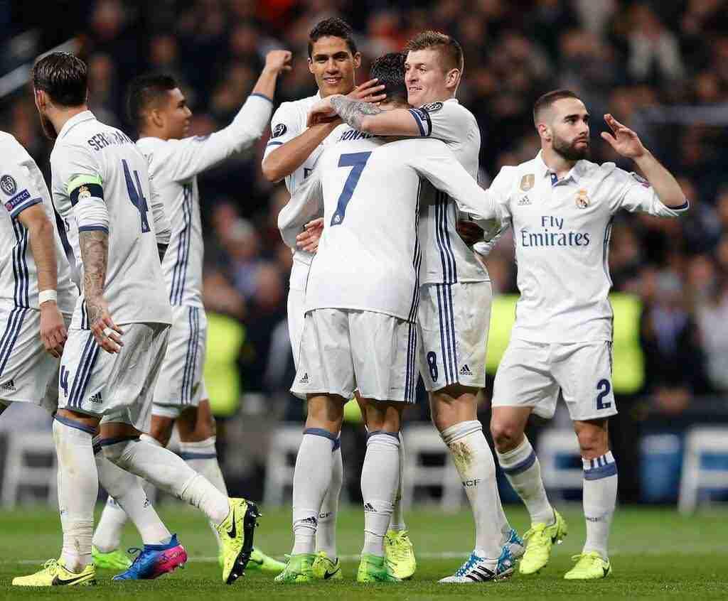 Celebración Gol Cristiano Ronaldo