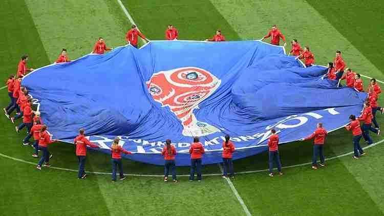 Inauguración de la Copa Confederaciones 2017