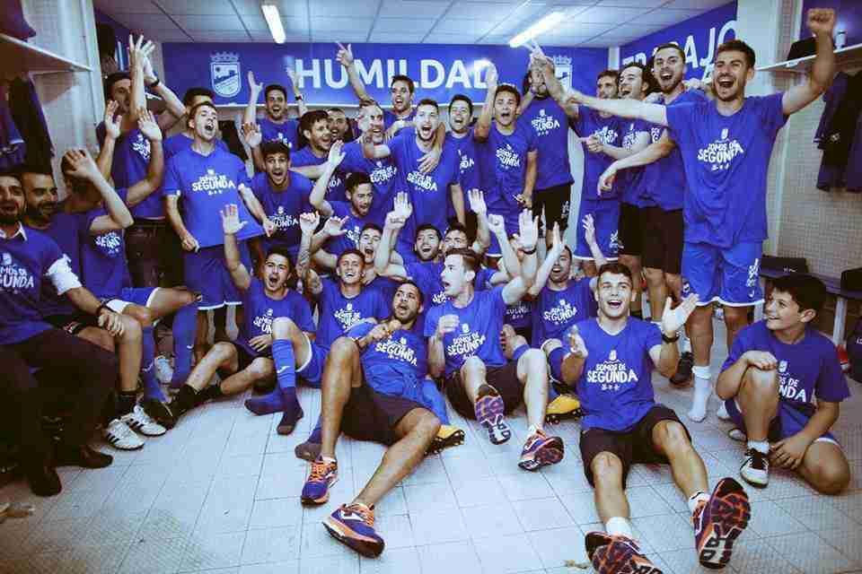 Lorca FC ascenso Segunda División